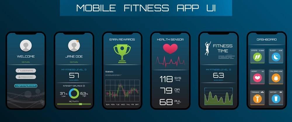 App con percorsi per correre sul tapis roulant
